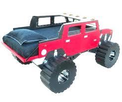 monster truck bed post monster jam truck twin bedding