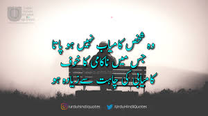 Best Urdu Quotes On Life In Hindi