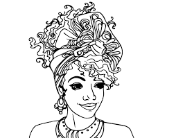 Small Picture African American Woman Coloring Pages COLORING WOMEN
