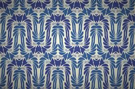 launch art nouveau style wallpaper pattern designs in patterncooler editor edit colors and textures