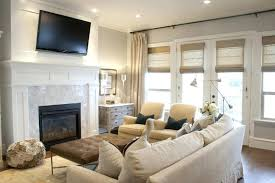 tv above fireplace living room with above fireplace decorating ideas tv fireplace feature wall