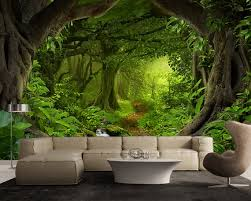 fantasy enchanted magical forest large