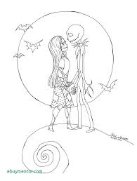 Jack Skellington And Sally Drawing At Getdrawings Inspirational Of