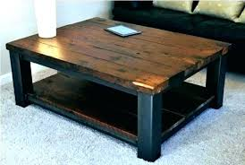 rustic wood and metal end tables round wood metal coffee table metal end table legs coffee