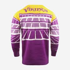Minnesota Vikings Light Up Sweater Minnesota Vikings Light Up Bluetooth Sweater Foco Com