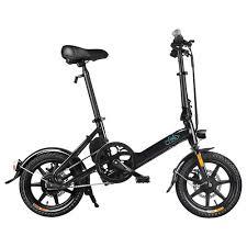 <b>FIIDO D3 Folding</b> Electric Moped Bike Black