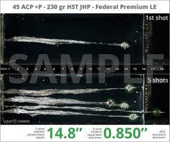 Handgun Self Defense Ammunition Ballistic Testing Data