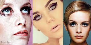 model twiggy made the mod look mainstream in the 1960 s women would place most emphasis on their eyes making them look very large and beautiful