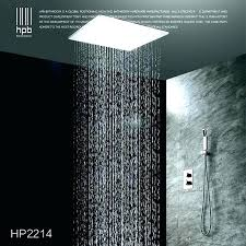 shower heads shower head from ceiling heads tile reed best ce