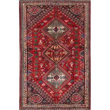 vegetable dye tribal abadeh nafar persian hand knotted wool rug 5 4