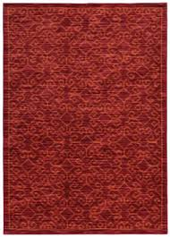 oriental weavers harper 40249 red orange area rug