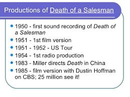 argumentative essay themes death sman