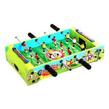 Miniature Wooden Foosball Table Game 100 Educational Toys For Children Wooden Mini Table Top Game Set 33