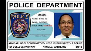 Card Design Portfolium Police Id Aacc