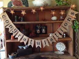 Congratulation Party Decorations Free Shipping New Burlap Congratulations Bunting Celebration Party