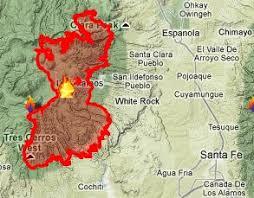 las conchas fire energycorrespondent com Las Conchas Section Map Las Conchas Section Map #39 Las Conchas Rocky Point