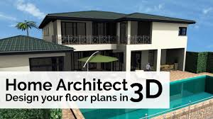 Architectural Design For House Plans Home Architect Design Your Floor Plans In 3d