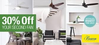 fan on sale. beacon lighting\u0027s fan catalogue sale on now