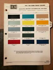 1992 Ford Truck Paint Color Palette For Sale Online Ebay