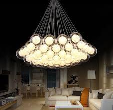 modern led glass ball pendant lights led ball bubble chandelier pendant lamp ceiling lights with g4 bulb track lighting pendant hanging lights from