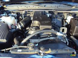 2004 Chevrolet Colorado Extended Cab 2.8 Liter DOHC 16V Vortec 4 ...