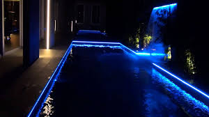 swimming pool lighting design. Pool Lighting LED Strip Light Swimming Design