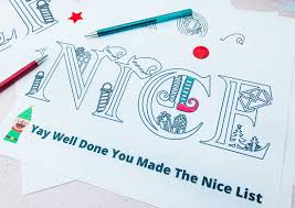 There are 368 goodbye grades for sale on etsy, and they cost $10.70 on average. Free Printable Elf On The Shelf Colouring Alphabet Extraordinary Chaos