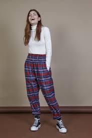 Saul Hair Design Saul Limited Edition Organic Cotton High Waist Trousers