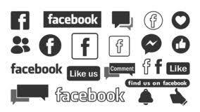Facebook Logo Stock Illustrations 2 172 Facebook Logo Stock