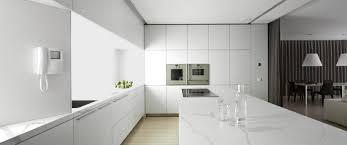 carrara honed andover kitchen