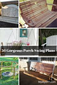 Small Picture 56 DIY Porch Swing Plans Free Blueprints MyMyDIY Inspiring