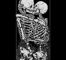 <b>Skull Flower Wall Art</b> | Redbubble