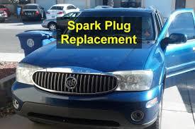 Tune up, spark plug replacement, Buick Rainier - VOTD - YouTube