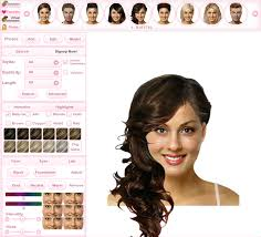 try hairstyles online