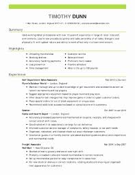 Retail Assistant Manager Resume Template Store Cv Sales