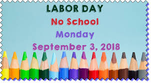 Image result for labor day no school