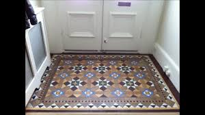 victorian geometric clay quarry tile restoration cleaning and sealing sus and surrey wmv you