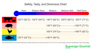 Meat Doneness Temperature Chart Celsius 56 Circumstantial Pork Temperature Cooked Chart