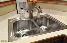 diy moen kitchen sink faucet install everyday shortcuts and brush holder cooking mat full house water