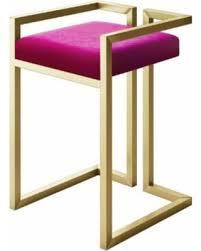 metal vanity stool.  Metal Peter Modern Small Vanity Stool Pink Velvet Gold Metal Footstool With Stool N