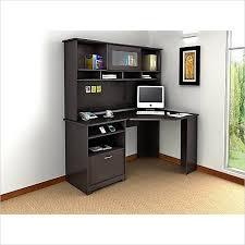 image of espresso corner armoire computer desk