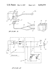 component schumacher battery charger schematic patent us4654575 Club Car Battery Charger Diagram patent us4654575 ripple detecting polarity indicator for battery schumacher se 40map charger schema full