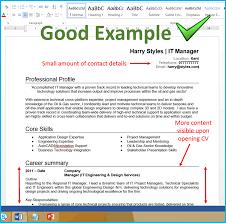 A Good Cv Format Omfar Mcpgroup Co