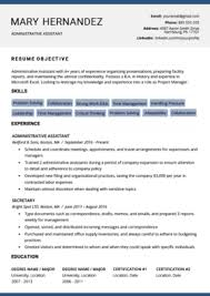 Resume Modern Format 40 Modern Resume Templates Free To Download Resume Genius