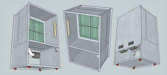 spray booth plans