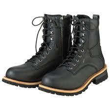 z1r men s m4 waterproof black leather boots