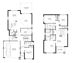innovative ideas modern 2 story house plans with garage small two story floor plans fresh modern 2 y house plans homes