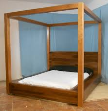 Canopy Bed Frames Wood Canopy Beds For Sale Distressed Wood Picture ...