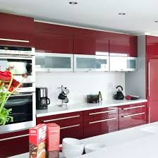 kitchen color ideas red. Hi-gloss Red Kitchen | Colour Ideas Design PHOTO GALLERY Housetohome.co.uk Color