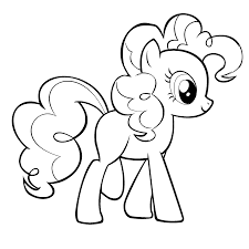 Small Picture My Little Pony Coloring Pages Pinkie Pie chuckbuttcom